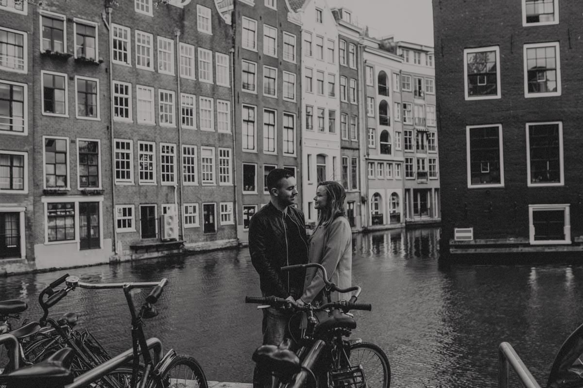 Amsterdam engagement photos - Destination wedding photographer
