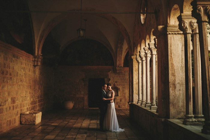 destination wedding photographer at Dubrovnik Wedding in Sponza Palace