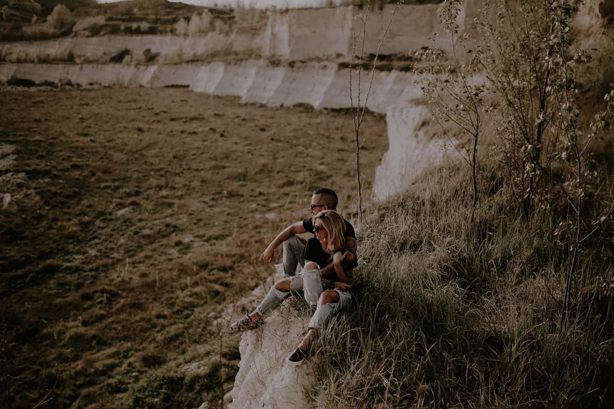 Montenegro engagement photographer - inked couple engagement - inked couple wedding