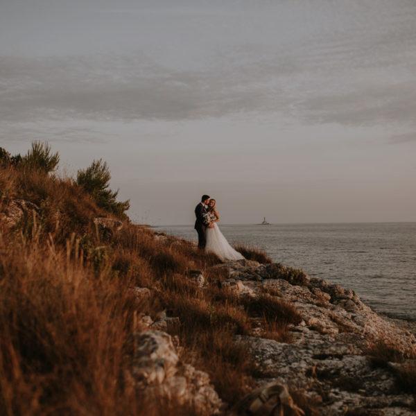 Romantic wedding in hearth of Istria