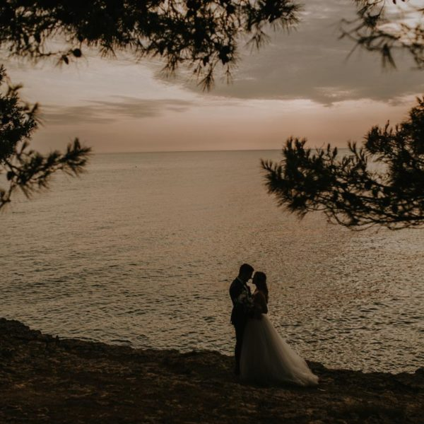 Romantic wedding in hearth of Istria