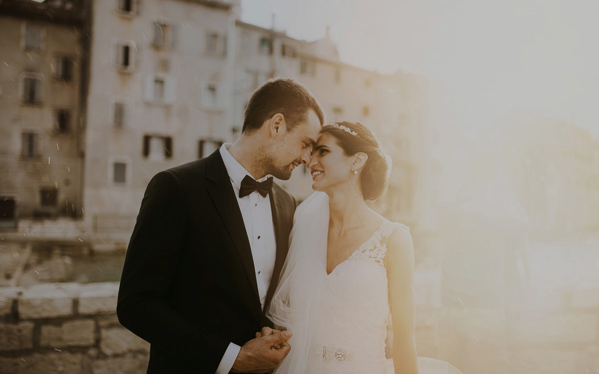 Mediterranean wedding in Rovigno