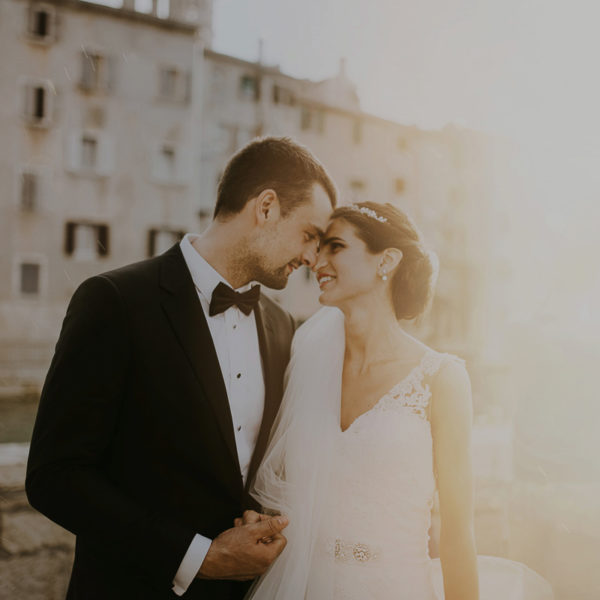 Mediterranean wedding in Rovigno