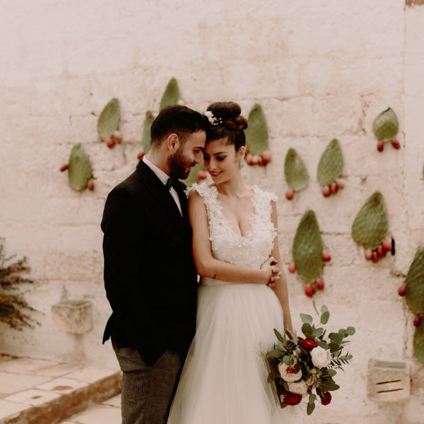Beautiful Italian elopement in Puglia