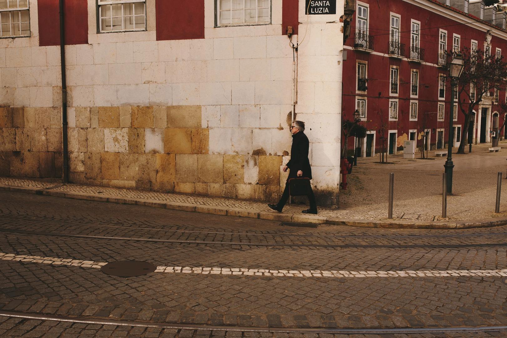 Man in Lisbon