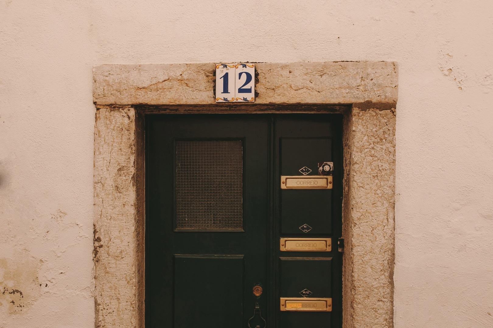 Lisbon door