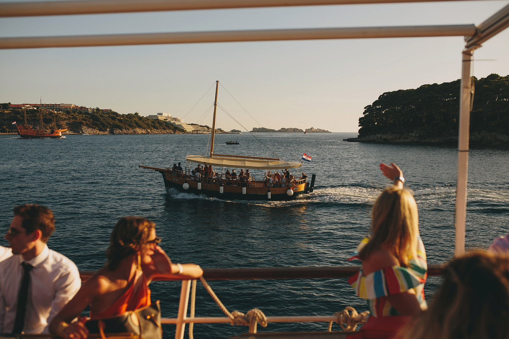wedding boat dubrovnik