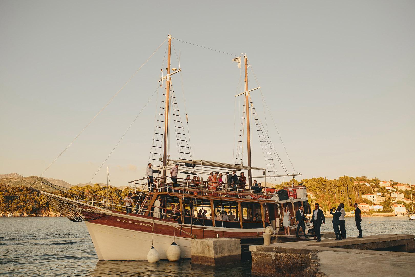kolocep island wedding