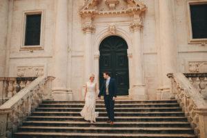 Dubrovnik old town wedding