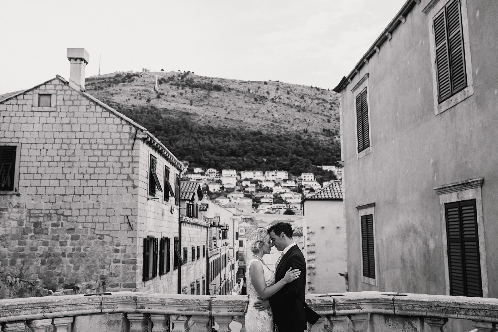 Dubrovnik old town wedding