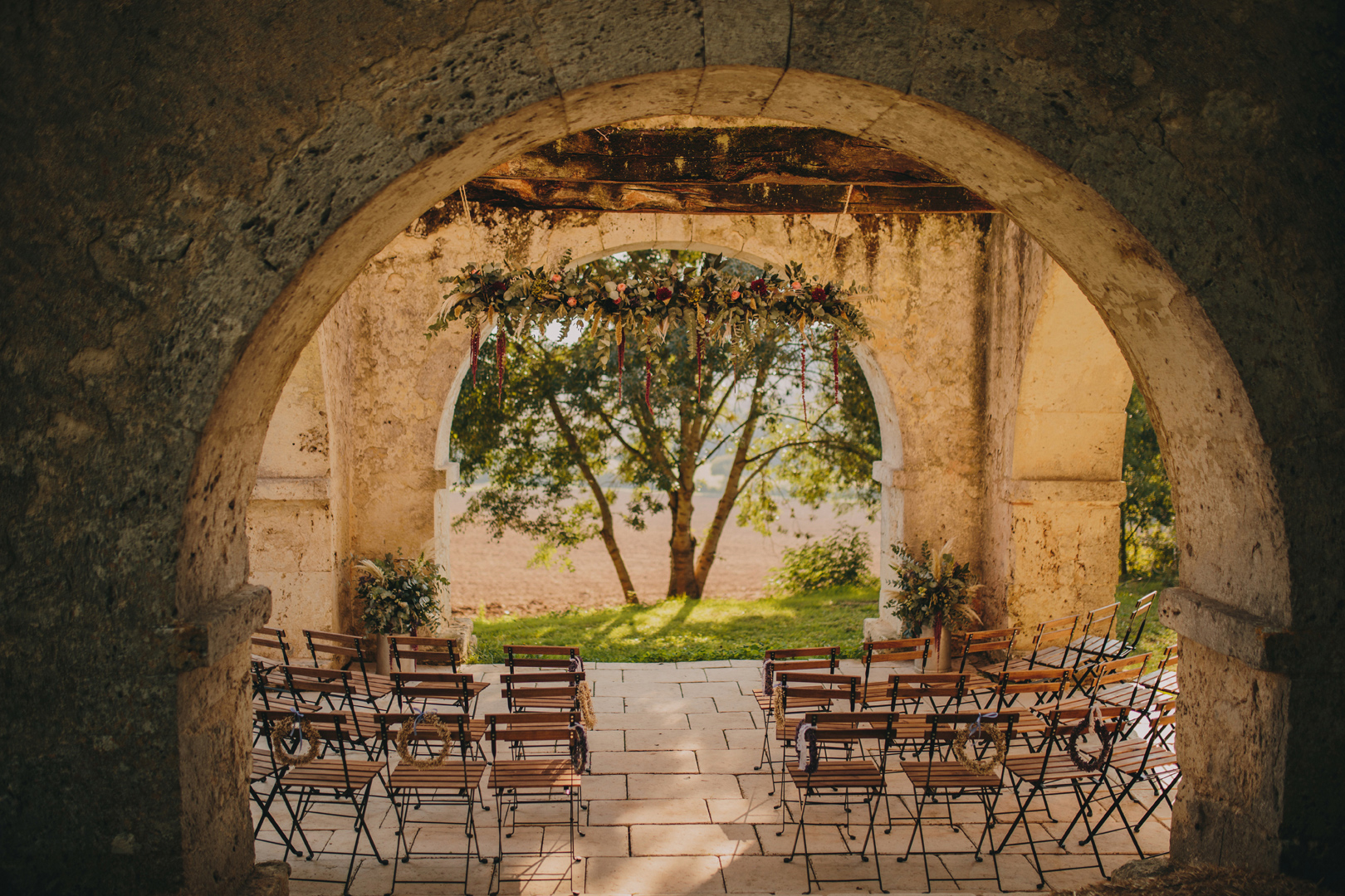 Chateau de Puissentut Wedding