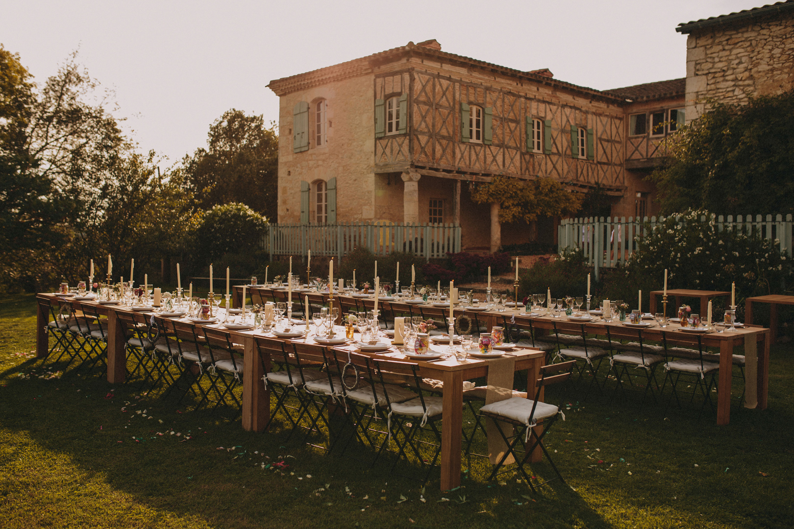 Wedding in Chateau de Puissentut