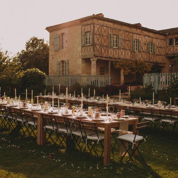 Wedding in Chateau de Puissentut // Southwest of France